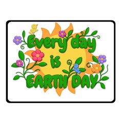 Earth Day Fleece Blanket (Small)