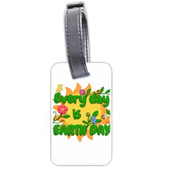 Earth Day Luggage Tags (One Side)