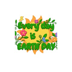 Earth Day Shower Curtain 48  x 72  (Small)