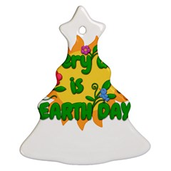 Earth Day Ornament (Christmas Tree)