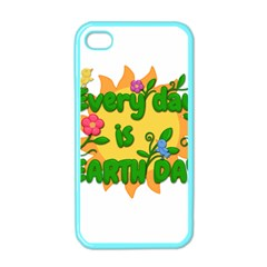 Earth Day Apple iPhone 4 Case (Color)