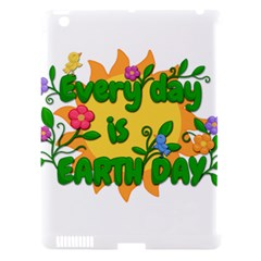 Earth Day Apple iPad 3/4 Hardshell Case (Compatible with Smart Cover)