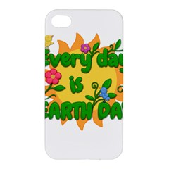 Earth Day Apple iPhone 4/4S Premium Hardshell Case