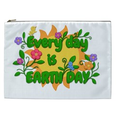 Earth Day Cosmetic Bag (XXL)