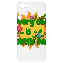 Earth Day Apple iPhone 5 Hardshell Case