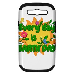 Earth Day Samsung Galaxy S III Hardshell Case (PC+Silicone)