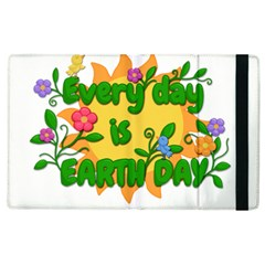 Earth Day Apple iPad 3/4 Flip Case