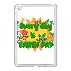 Earth Day Apple iPad Mini Case (White)