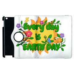 Earth Day Apple iPad 2 Flip 360 Case