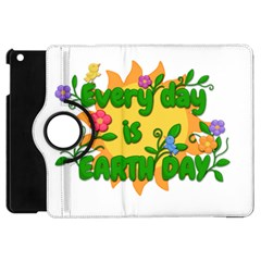 Earth Day Apple iPad Mini Flip 360 Case