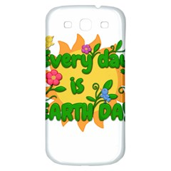 Earth Day Samsung Galaxy S3 S III Classic Hardshell Back Case