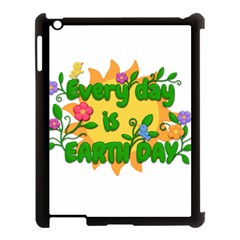 Earth Day Apple iPad 3/4 Case (Black)
