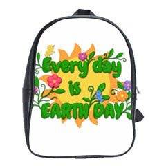 Earth Day School Bag (XL)