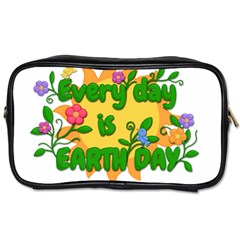 Earth Day Toiletries Bags by Valentinaart