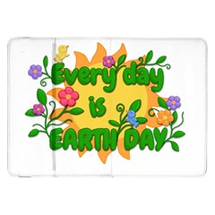 Earth Day Samsung Galaxy Tab 8.9  P7300 Flip Case