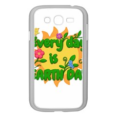 Earth Day Samsung Galaxy Grand DUOS I9082 Case (White)