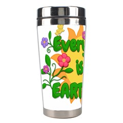 Earth Day Stainless Steel Travel Tumblers