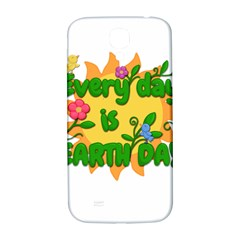 Earth Day Samsung Galaxy S4 I9500/I9505  Hardshell Back Case