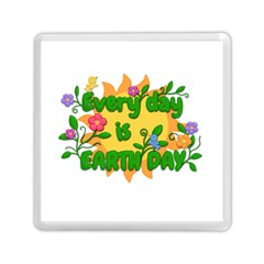 Earth Day Memory Card Reader (square)  by Valentinaart