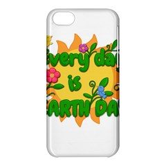Earth Day Apple iPhone 5C Hardshell Case