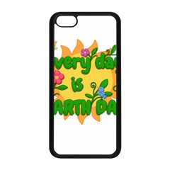 Earth Day Apple iPhone 5C Seamless Case (Black)