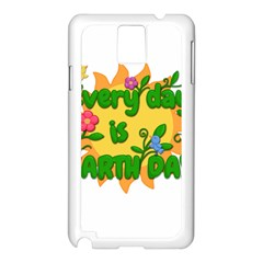 Earth Day Samsung Galaxy Note 3 N9005 Case (White)