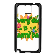 Earth Day Samsung Galaxy Note 3 N9005 Case (Black)