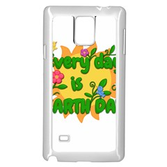 Earth Day Samsung Galaxy Note 4 Case (White)