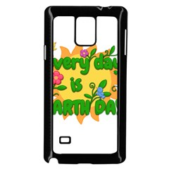 Earth Day Samsung Galaxy Note 4 Case (Black)