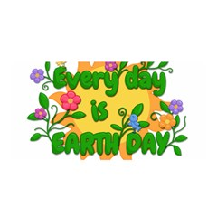 Earth Day Satin Wrap