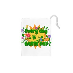 Earth Day Drawstring Pouches (XS)