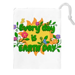 Earth Day Drawstring Pouches (XXL)
