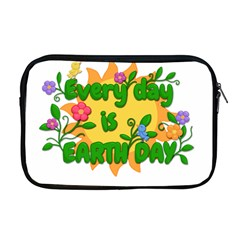 Earth Day Apple MacBook Pro 17  Zipper Case