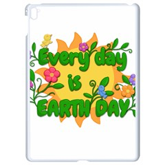 Earth Day Apple iPad Pro 9.7   White Seamless Case
