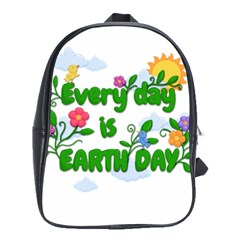 Earth Day School Bag (large)