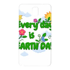 Earth Day Samsung Galaxy Note 3 N9005 Hardshell Back Case