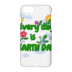 Earth Day Apple Iphone 8 Hardshell Case by Valentinaart
