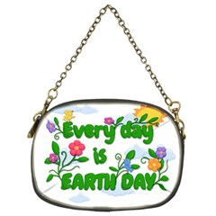 Earth Day Chain Purses (two Sides)  by Valentinaart