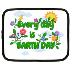 Earth Day Netbook Case (xl)  by Valentinaart