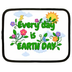 Earth Day Netbook Case (xxl)  by Valentinaart