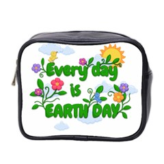 Earth Day Mini Toiletries Bag 2 Side