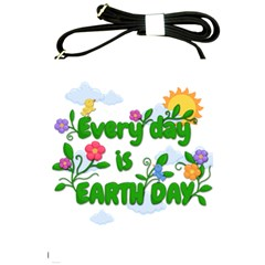 Earth Day Shoulder Sling Bags by Valentinaart