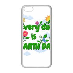 Earth Day Apple Iphone 5c Seamless Case (white) by Valentinaart