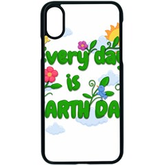 Earth Day Apple Iphone X Seamless Case (black) by Valentinaart