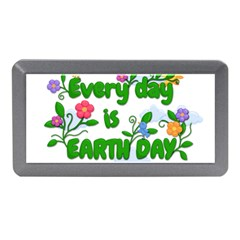 Earth Day Memory Card Reader (mini) by Valentinaart