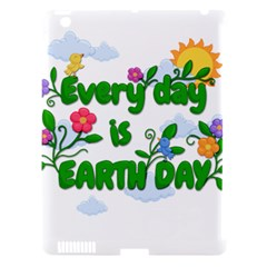 Earth Day Apple Ipad 3/4 Hardshell Case (compatible With Smart Cover) by Valentinaart