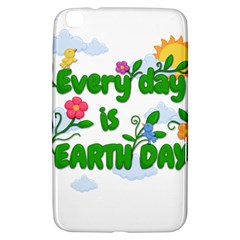 Earth Day Samsung Galaxy Tab 3 (8 ) T3100 Hardshell Case  by Valentinaart