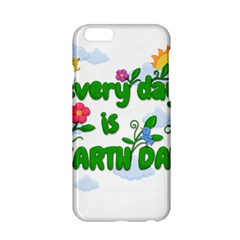 Earth Day Apple Iphone 6/6s Hardshell Case by Valentinaart