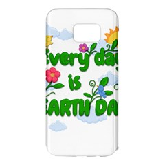 Earth Day Samsung Galaxy S7 Edge Hardshell Case