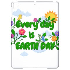 Earth Day Apple Ipad Pro 9 7   Hardshell Case
